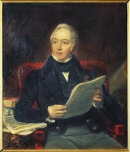 Portret van Johan Willem ridder Huyssen van Kattendijke (1782-1854)