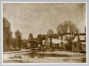 De brug over de Vecht bij Nieuwersluis