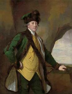 Portret van John Whetham  (1731-1781) van Kirklington