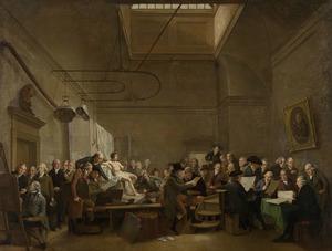 De tekenzaal van Felix Meritis te Amsterdam