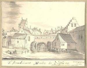 Zutphen, de Zeemtouwersmolen 1717