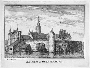 Kasteel Marquette in Heemskerk in het jaar 1630