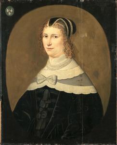 Portret van een vrouw, mogelijk Theodora de Visscher (1641-1722)