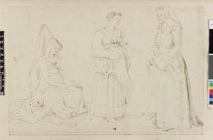 Studie van drie vrouwen