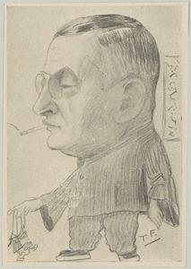 Portret van Henri Jean Francois Borel (1869-1933)