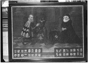 Dubbelportret van Goert van Reede (1516-1585) en Geertruid van Nijenrode (1525-1605)