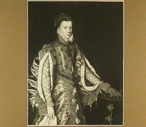 Portret van Elisabeth van Valois, derde echtgenote  van koning Filips II van Spanje