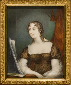 Portret van Charlotte Elizabeth Hawkins Whitshed