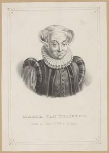 Portret van Maria van Utrecht (1553-1629)