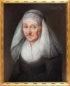 Portret van Tjadduwe Jans (1745-1824)