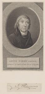 Portret van Arend Fokke (1755-1812)