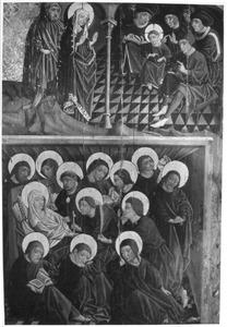de twaalfjarige Christus en de schriftgeleerden in de tempel, de dood van Maria