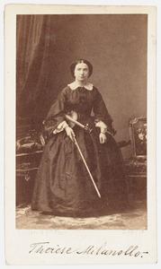 Portret van Teresa Milanollo (1827-1904)