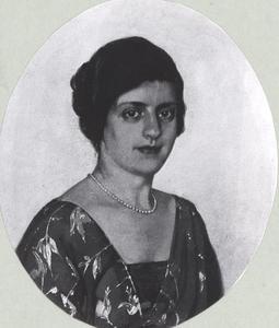 Portret van waarschijnlijk Elisabeth van Vloten (1860-1947)