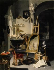 Het atelier van Lucas de Evangelist