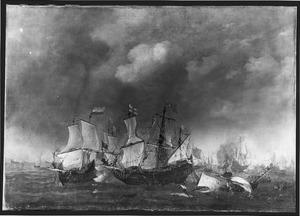 Zeegevecht uit de Eerste Engelse Oorlog (1652-1654)