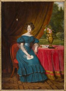 Portret van Marianne van Oranje-Nassau (1810-1883)