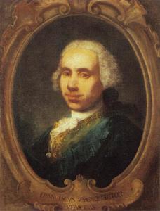 Portret van de Venetiaanse schilder Francesco Zugno (1709-1787)