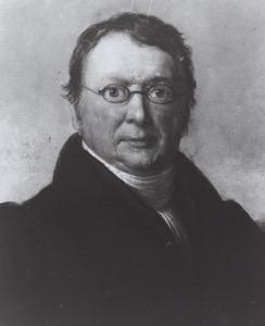 Portret van Jacobus Spruijt (1796-1839)