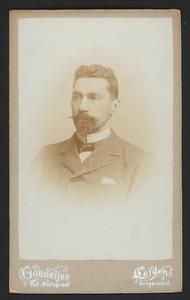Portret van Abraham van der Elst (1865- )