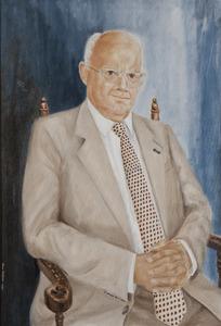 Portret van Cornelis Johannes van Eijk (1923-2016)