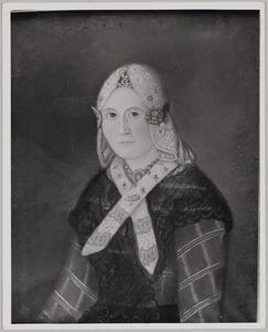 Portret van Tetje Anneus Wassenaar (1813- )