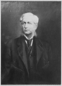 Portret van jhr. Frederik Johan Constantijn Schimmelpenninck (1829-1906)