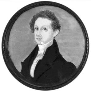 Portret van Jacob Isaac van Waning (1815-1843)