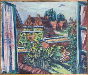 Ausblick aus der Dachluke