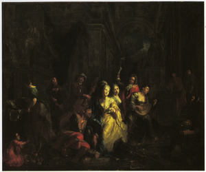 De Verloren Zoon bij de courtisanes