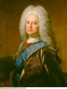 Portret van Wilhelm VIII van Hessen-Kassel (1682-1760)