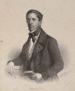 Portret van Guillaume Groen van Prinsterer (1801-1876)