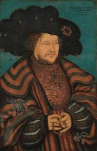 Portret van Joachim I Nestor, keurvorst van Brandenburg (1484-1535)