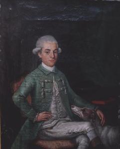 Portret van Johan van der Does (1762-1787)