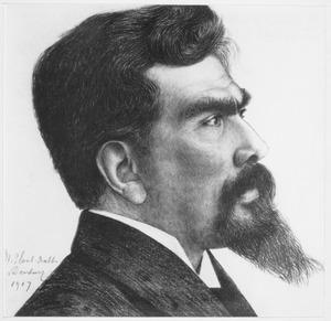 Portret van Jan Toorop (1858-1928)
