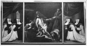 De bewening van Christus met donorportretten van Jeanne Suys (?-?), Johanna Strymeersch (?-?), Maria Vermeulen (?-?) en Maria van den Kerckhove (?-?)