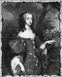 Portret van Prinses Mary I Stuart (1631-1660)