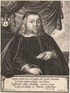 Portret van Henrich Freder