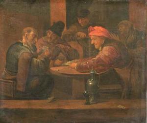 Kaartspelende boeren