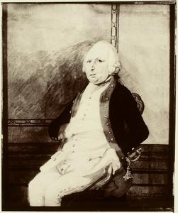 Portret van Diederik Jacob van Reede van Nijevelt (1725-1792)