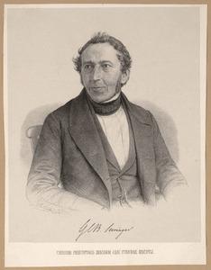 Portret van Gerard Conrad Bernard Suringar (1802-1874)