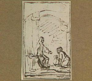 Christus en de Samaritaanse vrouw (Johannes 4:15)