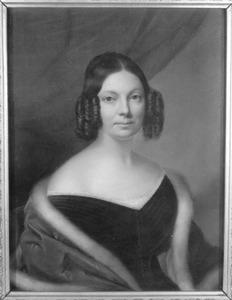 Portret van Anna Elisabeth van Pallandt (1806-1852)