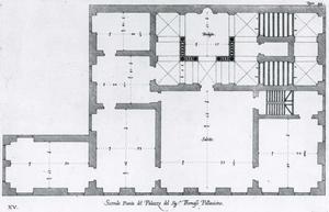 Palazzo dell' Acquedotto de Ferrari Galliera: Grondplan