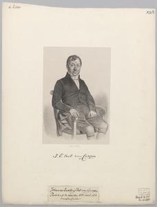 Portret van Johannes Eusebius Voet van Campen (1778-1851)