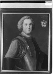 Portret van Joost Hendrik Baldewijn von Hertefeldt (1696-1780)