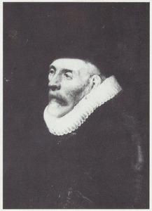 Portret van Jacob Cornelisz. van Wouw (1545-1620)