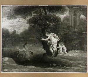 Landschap met Glaucus en Circe? (Ovidius, Metamorfosen)