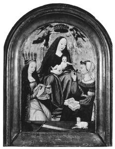 Maria met kind en de HH. Catharina en Agnes