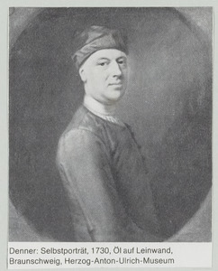 Portret van Balthasar Denner (1685-1749)